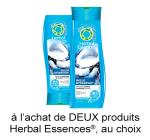 Coupon Rabais Herbal Essences A Imprimer De 1.50$ Sur pgEveryDay