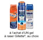 Coupon Rabais Gillette A Imprimer De 0.50$ Sur pgEveryday