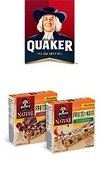 Coupon Rabais Barres Tendres Quaker Nature Fruits Et Noix Imprimable Pour Économiser 0.50$