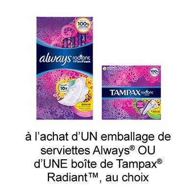 UniPrix: Coupon Rabais A Imprimer Gratuit Hygiene Feminine De 2$