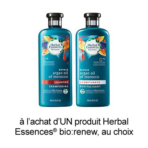 Coupon Rabais Herbal Essences A Imprimer De 1$
