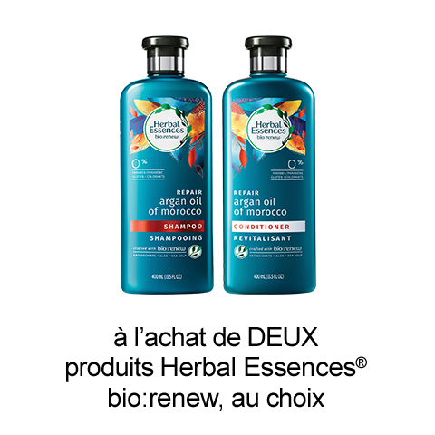 Coupon Rabais Herbal Essences A Imprimer De 2.5$ Sur UniPrix