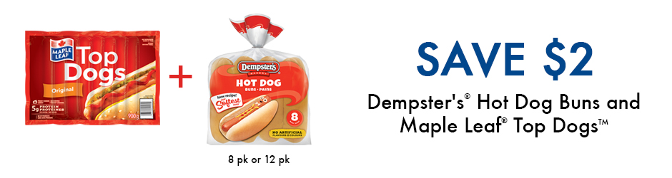 Print This Dempster's And Maple Leaf Voucher And Save $2 On Walmart!