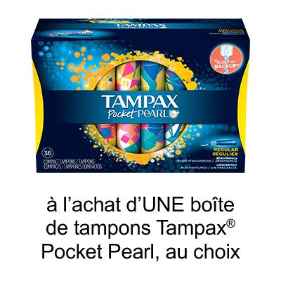 Coupon Rabais A Imprimer Pour Économisez 0.75$ Sur Tampax