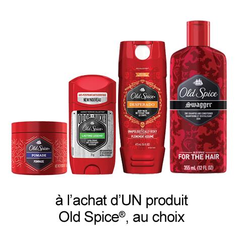 pgEveryDay: Coupon Rabais A Imprimer Gratuit Old Spice De 1$