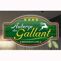 La circulaire de Auberge Des Gallant - Salles Banquets - Réceptions