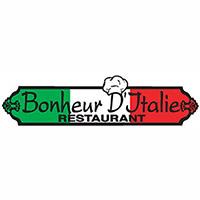 La circulaire de Restaurant Bonheur D'italie - Restaurants