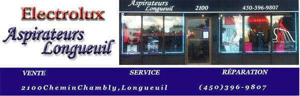 Aspirateur Longueuil Vente Réparation Service