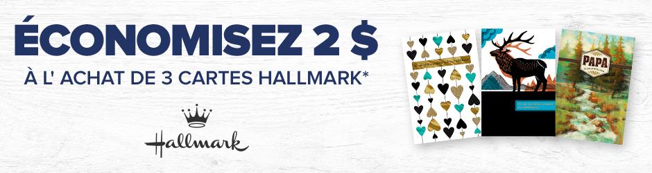 Coupon Rabais A Imprimer Pour Économisez 2$ Sur Cartes Hallmark