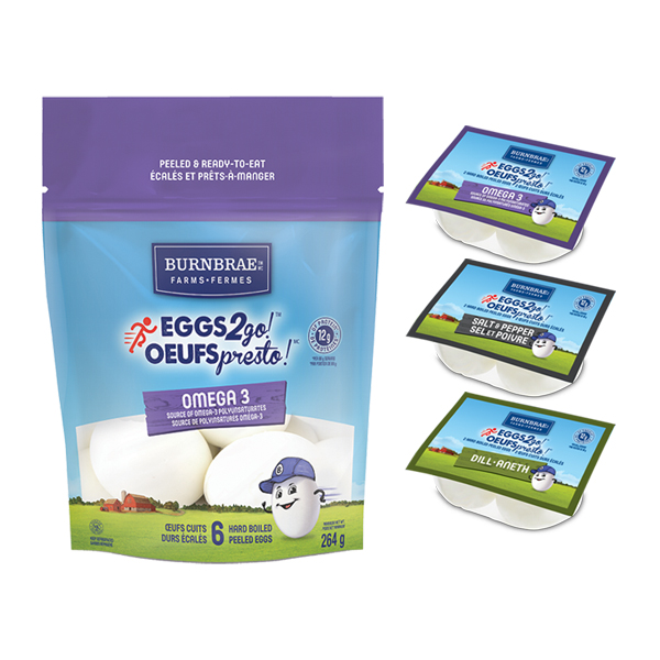Eggs2go! Mail Coupon –  $1 Off Any Eggs2go! Product On Save