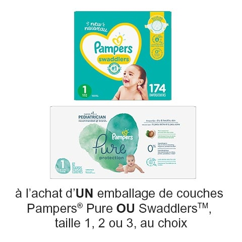 Coupon Rabais Pampers A Imprimer De 3$