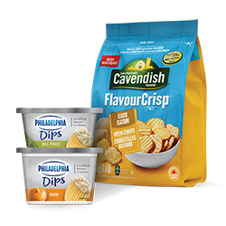 New Cavendish Farms And Kraft Philadelphia Dips Coupon –  $2.50 Off Any Cavendish Farms And Kraft Philadelphia Dips Product On Save