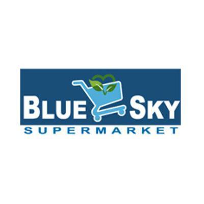 Online Blue Sky Supermarket flyer