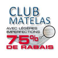 La circulaire de Club Matelas – Matelas Montreal - Liquidation De Meubles