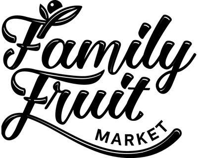 Online Family Fruit Market flyer