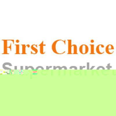 Online First Choice Supermarket flyer