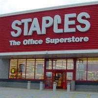 Online Staples flyer