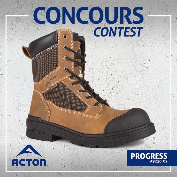 Concours Gagne 2 Paires De Bottes Acton Progress!