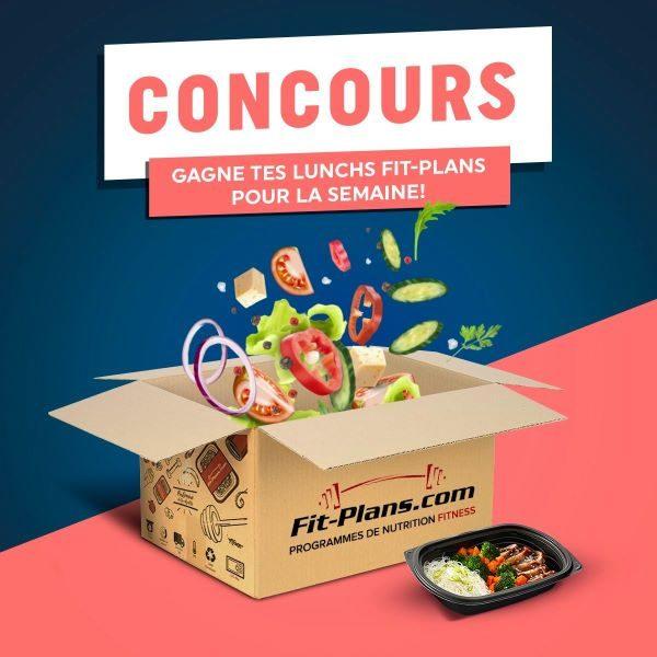 Concours Gagne Tes Fit Plans!