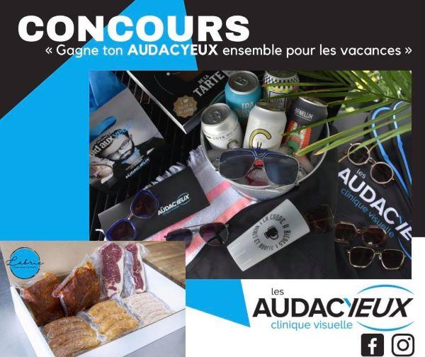 Concours Gagne Ton Audacyeux Ensemble Pour Les Vacances!