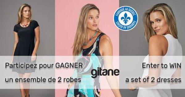 Concours Gagne Un Ensemble De 2 Robes Gitane!