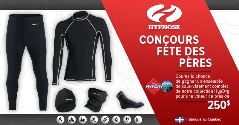 Concours Gagne Un Ensemble De Sous Vêtement Complet De La Collection Hypdry!