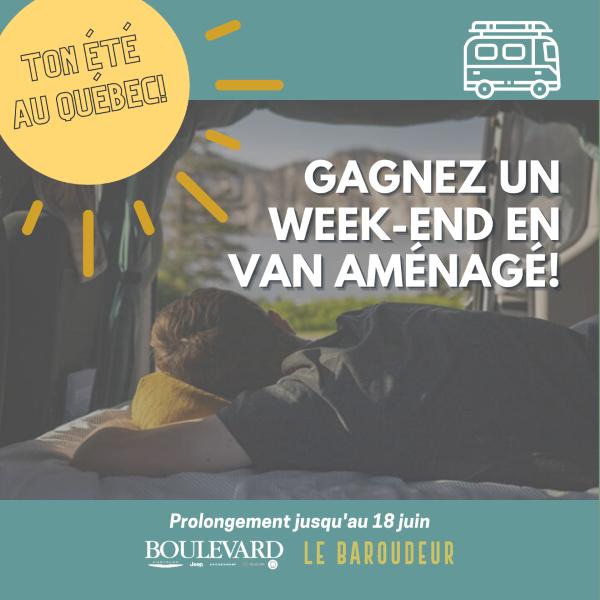Concours Gagne Un Week End En Van Aménagé!
