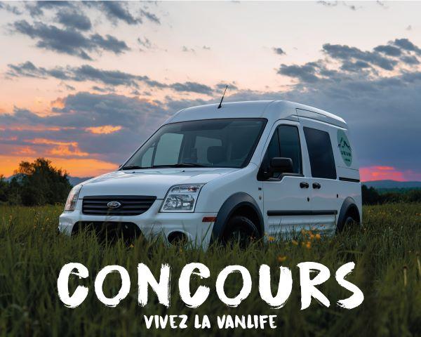 Concours Gagne Une Expérience Vanlife De 4 Jours Tout Inclus Dans Une Magnifique Van!