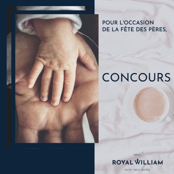 Concours Gagne Une Nuitée Pour Deux Dans Une Chambres Du Royal William Hôtel!