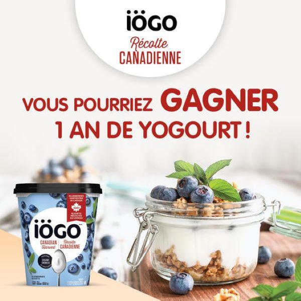 Concours Gagnez 1 An De Yogourt!