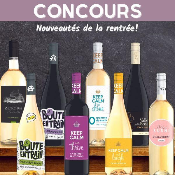 Concours Gagnez 3 Bouteilles De Votre Choix Parmi Les Nouveautés!