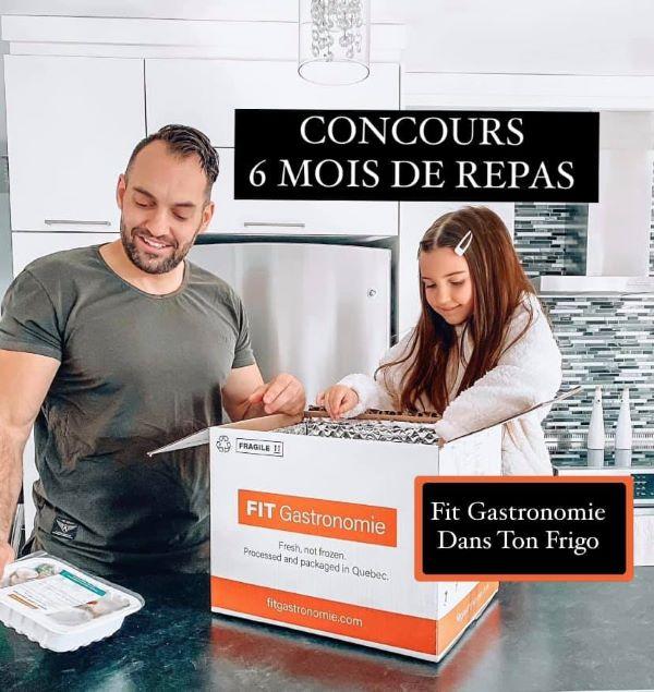 Concours Gagnez 6 Mois Gratuits De Délicieux Repas Fit Gastronomie!
