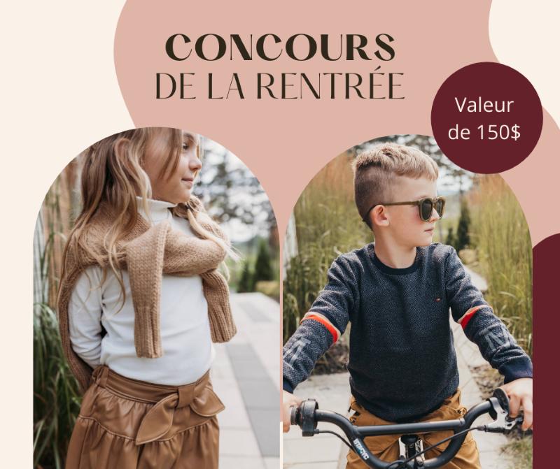 Concours Gagnez Des Vêtements Pour Enfants Offerts Par Simplement Beau!