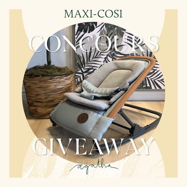 Concours Gagnez Le Transat Kori De Maxi Cosi!