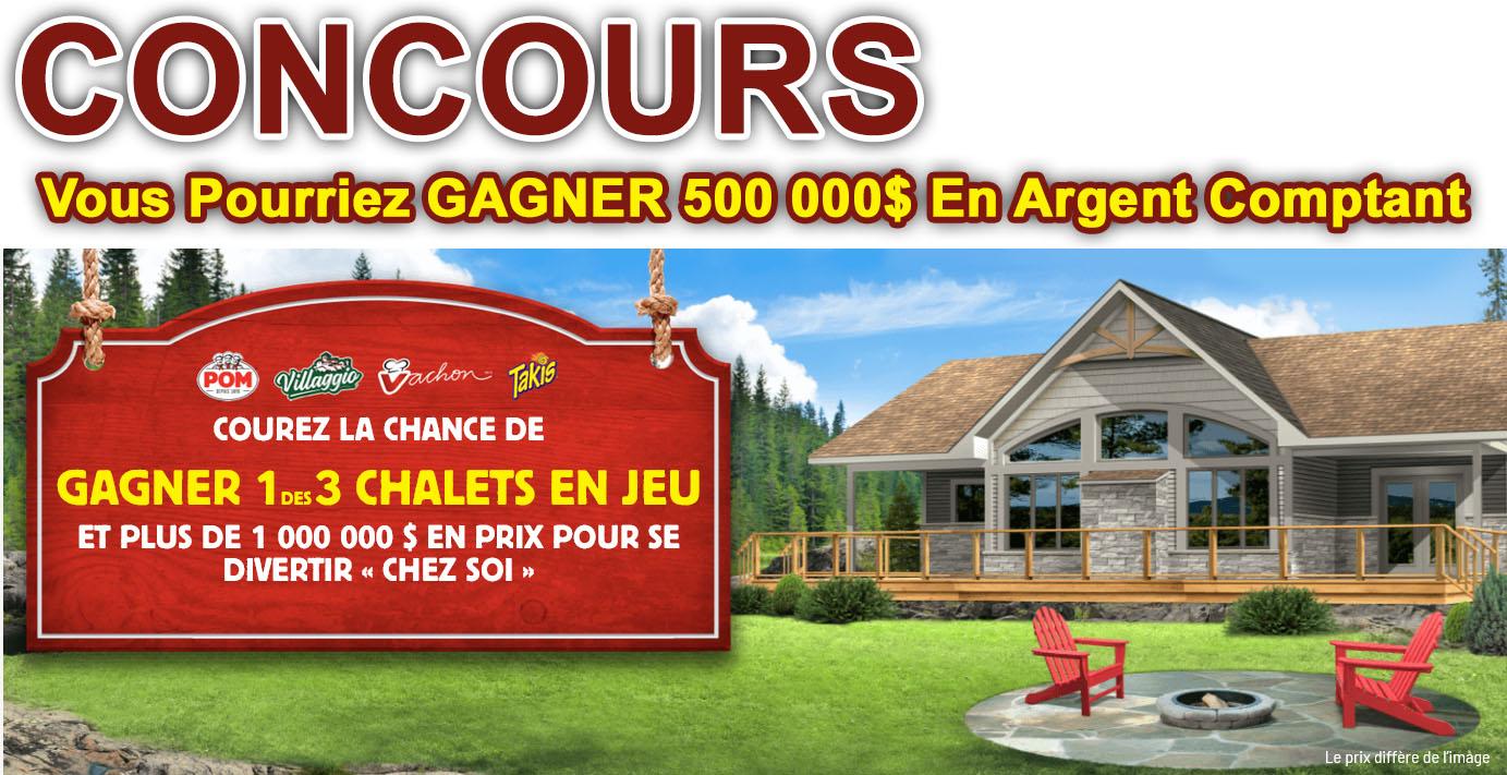 Concours Gagnez Un Chalet