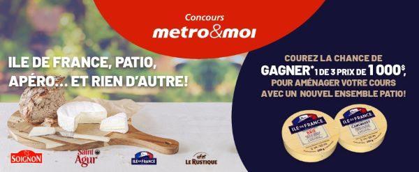 Concours Gagnez Un Des 3 Prix De 1000$ Pour Aménager Votre Cours Avec Un Nouvel Ensemble Patio!