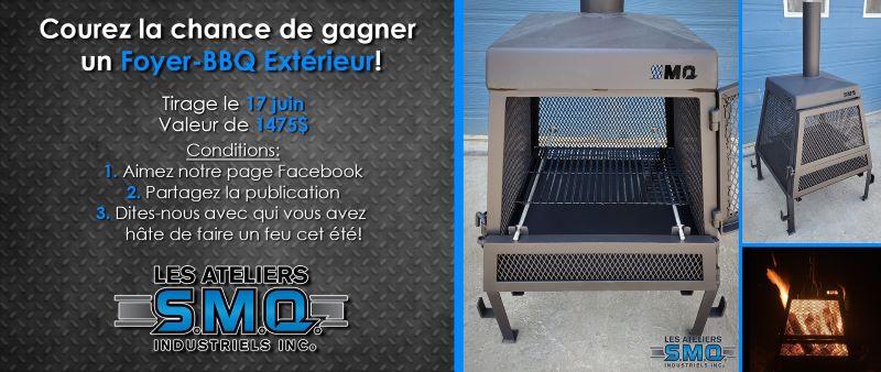 Concours Gagnez Un Foyer Bbq Extérieur!
