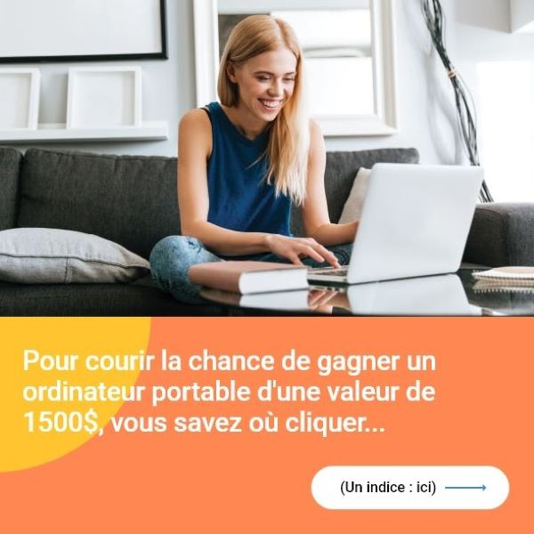 Concours Gagnez Un Ordinateur Portable Pour La Rentrée!