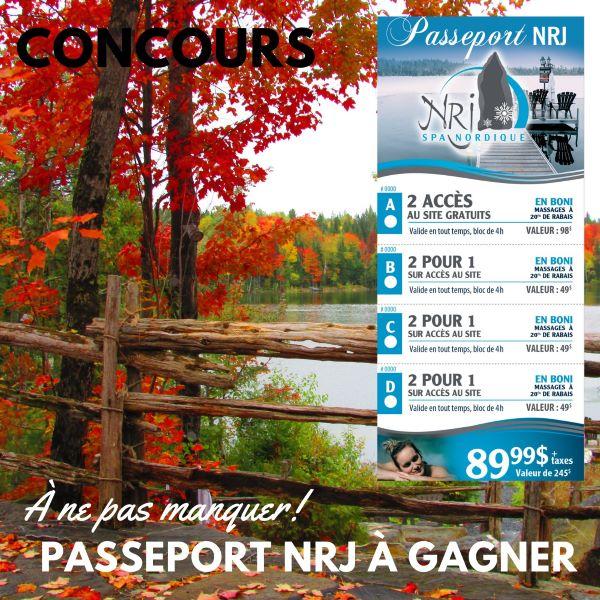 Concours Gagnez Un Passeport Au Nrj Spa Nordique!