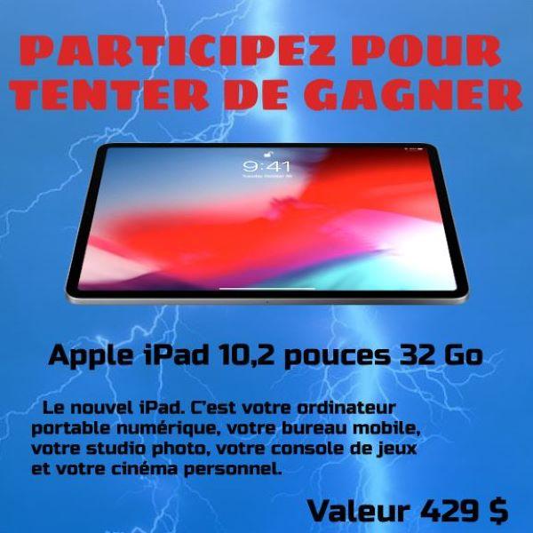 Concours Gagnez Un Un Apple Ipad 10,2
