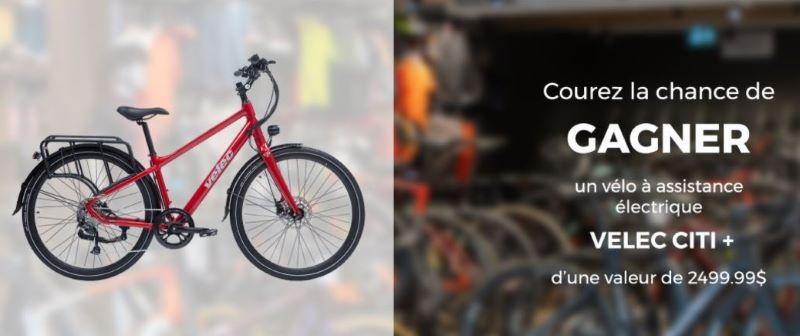 Concours Gagnez Un Vélo à Assistance électrique Vélec Citi D
