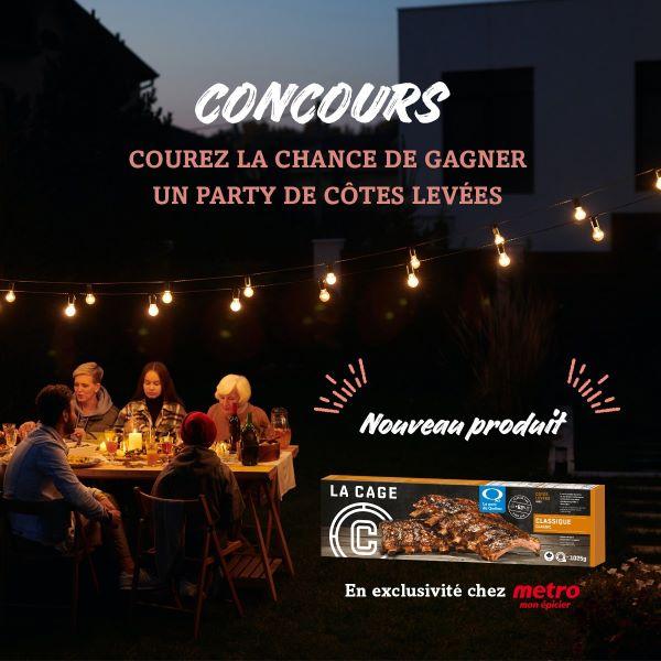 Concours Gagnez Une Caisse De Côtes Levée Offertes Par La Cage Et Le Porc Du Québec!