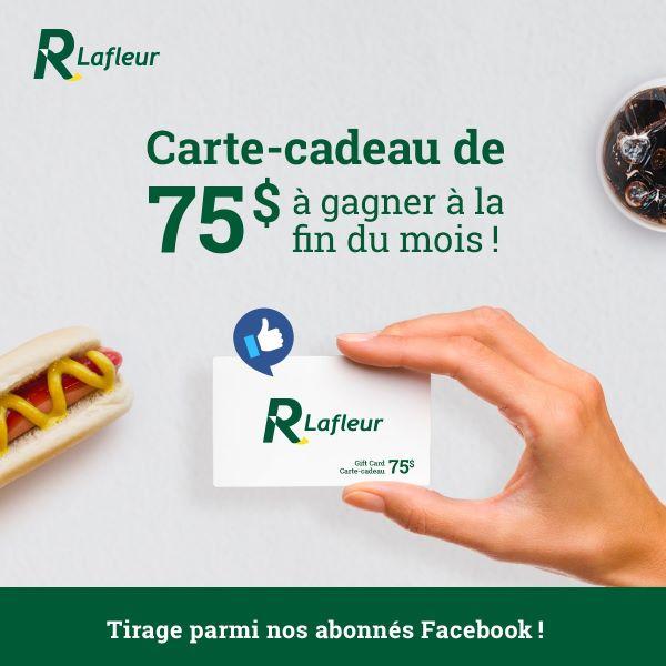 Concours Gagnez Une Carte Cadeau Lafleur De 75$!