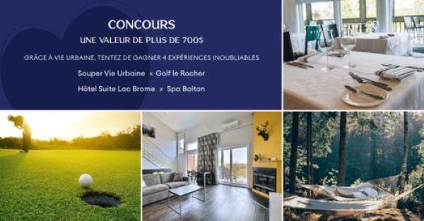 Concours Gagnez Une Magnifique Escapade Dans Les Cantons De L'est!