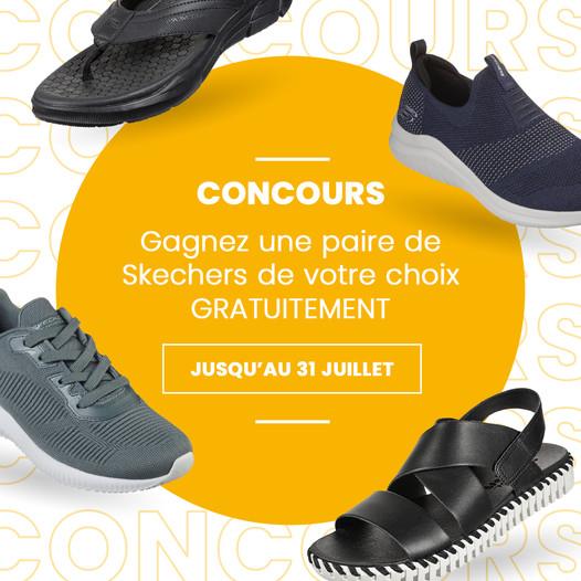 Concours Gagnez Une Paire De Skechers De Votre Choix!
