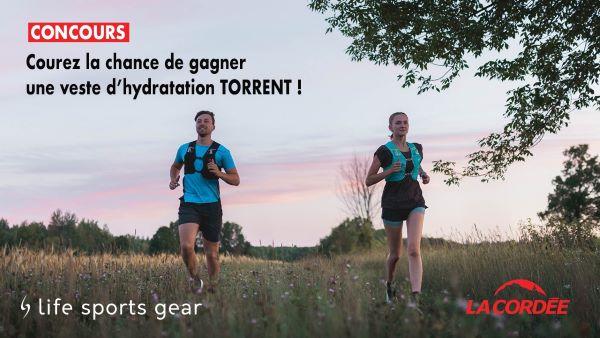 Concours Gagnez Une Veste D'hydratation 2.5l Torrent Pour Rester Hydratés Dans Toutes Vos Activités!