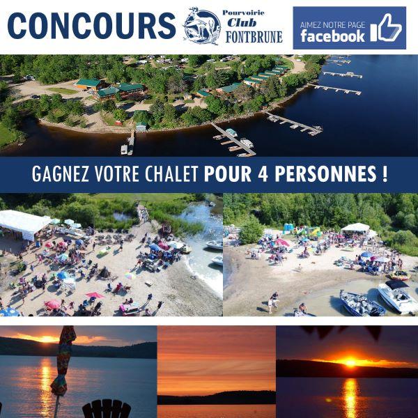 Concours Gagnez Votre Chalet Pour 4 Personnes!