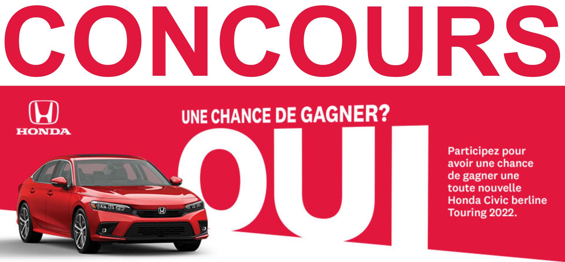 Concours Honda Civic 2022