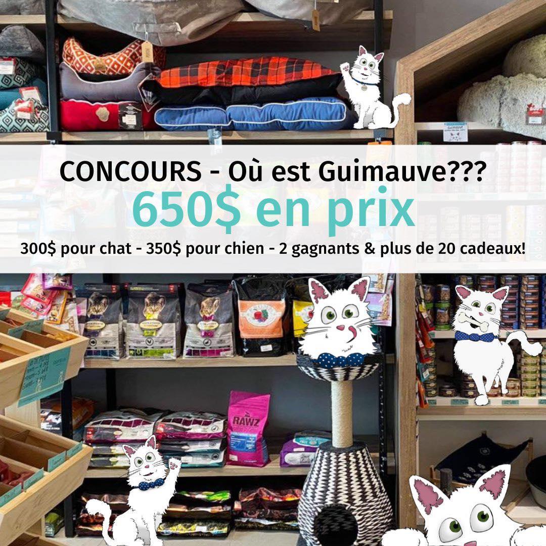 Concours Où Est Guimauve ?