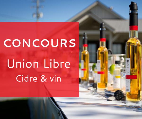 Concours Union Libre   Cidre Et Vin!